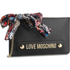 Torebka LOVE MOSCHINO - JC4124PP16LV0000  Nero. Czarne torebki klasyczne damskie marki Love Moschino, ze skóry ekologicznej. Za 589,00 zł.