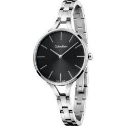 ZEGAREK CALVIN KLEIN Graphic K7E23141. Czarne zegarki damskie marki Calvin Klein, szklane. Za 1119,00 zł.