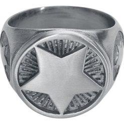 Sygnety męskie: etNox Hard and Heavy Stern Pierścień srebrny