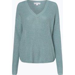 Marie Lund - Sweter damski z dodatkiem moheru, niebieski. Niebieskie swetry klasyczne damskie Marie Lund, l, z dzianiny. Za 249,95 zł.