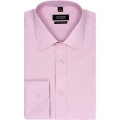 Koszula bexley 2434 długi rękaw slim fit róż. Szare koszule męskie na spinki marki Recman, m, z długim rękawem. Za 49,99 zł.
