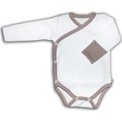 Body kimono z długim rękaw białe VINTAGE ROSE r. 62 (NVR-10/62). Białe body niemowlęce marki NANAF ORGANIC, z długim rękawem. Za 42,99 zł.