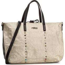 Torebka NOBO - NBAG-D3340-C023  Złoty. Żółte torebki klasyczne damskie Nobo, ze skóry ekologicznej, duże. W wyprzedaży za 149,00 zł.