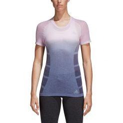 Koszulka do biegania damska ADIDAS PRIMEKNIT WOOL TEE / CF2881 - PRIMEKNIT WOOL TEE. Niebieskie bluzki z odkrytymi ramionami marki 4f, s. Za 239,00 zł.