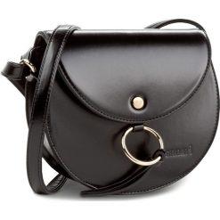 Torebka MONNARI - BAG0610-020 Black. Czarne listonoszki damskie Monnari, ze skóry ekologicznej. W wyprzedaży za 99,00 zł.