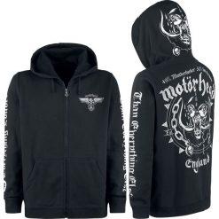 Motörhead England Bluza z kapturem rozpinana czarny. Czarne bejsbolówki męskie Motörhead, s, z nadrukiem, z kapturem. Za 224,90 zł.