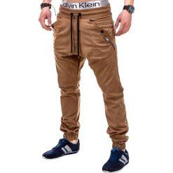 Spodnie męskie: SPODNIE MĘSKIE JOGGERY P241 – RUDE
