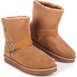 Buty zimowe damskie: ŚNIEGOWCE ZE SPRZĄCZKĄ