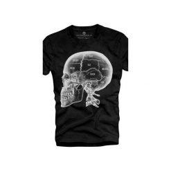 T-shirt UNDERWORLD Ring spun cotton X-ray Skull. Szare t-shirty męskie z nadrukiem marki Underworld, m, z bawełny. Za 59,99 zł.
