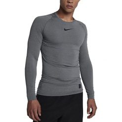 Nike Koszulka męska NP TOP LS COMP szara r. L (838077 091). Szare t-shirty męskie Nike, l. Za 111,26 zł.