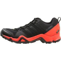 Adidas Performance TERREX AX2R GTX Obuwie hikingowe core black/hires red. Czarne buty sportowe męskie adidas Performance, z materiału, outdoorowe. W wyprzedaży za 399,20 zł.
