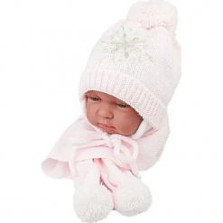 Czapka niemowlęca z szalikiem CZ+S 001A. Szare czapeczki niemowlęce Proman. Za 38,76 zł.