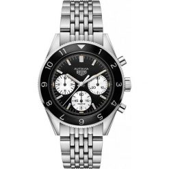 ZEGAREK TAG HEUER AUTAVIA CBE2110.BA0687. Szare zegarki męskie marki W.KRUK, z bursztynem, srebrne. Za 21490,00 zł.