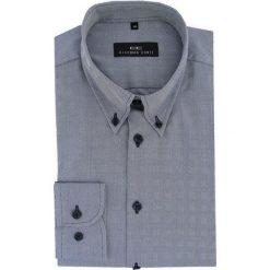 Koszula BIAGIO 16-06-18-K. Czarne koszule męskie na spinki marki TOM TAILOR DENIM, l, z bawełny, button down, z długim rękawem. Za 199,00 zł.