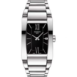 PROMOCJA ZEGAREK TISSOT GENEROSI-T T105.309.11.058.00. Czarne zegarki damskie marki KALENJI, ze stali. W wyprzedaży za 1188,00 zł.
