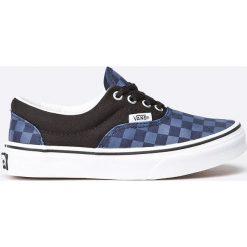 Vans - Tenisówki Era. Szare buty sportowe dziewczęce marki Vans, z gumy, na sznurówki. W wyprzedaży za 89,90 zł.