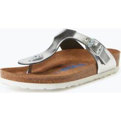 Birkenstock - Sandały damskie ze skóry, szary. Szare sandały damskie marki Birkenstock, z materiału. Za 199,95 zł.