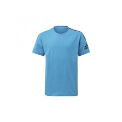 T-shirty z krótkim rękawem Dziecko  adidas  Koszulka adidas Z.N.E. Niebieskie t-shirty chłopięce z krótkim rękawem marki S.Oliver, z nadrukiem, z bawełny. Za 99,95 zł.