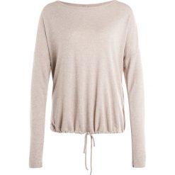 Bluzki asymetryczne: Deha CREW  Bluzka z długim rękawem rose dust