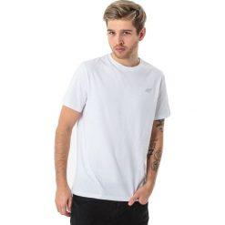4f Koszulka męska H4L18-TSM002 biała r. S. Białe koszulki sportowe męskie 4f, l. Za 34,99 zł.