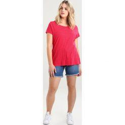 T-shirty damskie: Ragwear Plus MINT DOTS PLUS Tshirt z nadrukiem raspberry