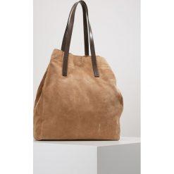 Shopper bag damskie: CLOSED RAW EDGE TOTE Torba na zakupy dune
