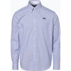La Martina - Koszula męska, niebieski. Niebieskie koszule męskie na spinki La Martina, m, w paski. Za 649,95 zł.