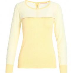 Żółty Sweter Your Smile. Żółte swetry klasyczne damskie marki Mohito, l, z dzianiny. Za 29,99 zł.