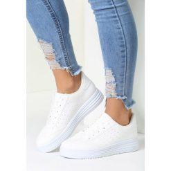 Buty sportowe damskie: Białe Buty Sportowe Global Spirit