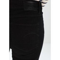 GStar 3301 MID SKINNY Jeans Skinny Fit ita black superstretch. Czarne jeansy damskie relaxed fit G-Star, z bawełny. Za 419,00 zł.