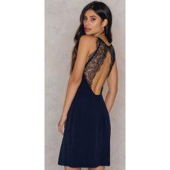 Sukienki hiszpanki: Samsoe & Samsoe Krótka sukienka Willow – Navy