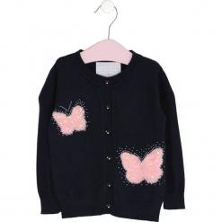 Granatowy Sweter To Float. Niebieskie swetry dziewczęce Born2be, na jesień. Za 49,99 zł.