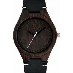Zegarek Giacomo Design Drewniany męski  GD08010. Czarne zegarki męskie Giacomo Design. Za 359,00 zł.
