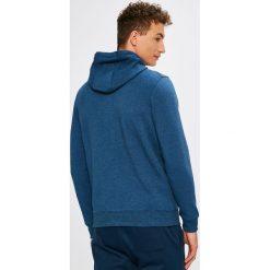 Under Armour - Bluza Threadborne FZ. Niebieskie bluzy męskie rozpinane marki Under Armour, l, z bawełny, z kapturem. W wyprzedaży za 229,90 zł.