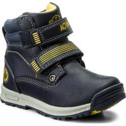 Buty zimowe chłopięce: Trapery ACTION BOY – CP40-FK5-816JZ M Granatowy