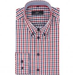 Koszula BIAGIO slim 16-03-02-K. Czarne koszule męskie na spinki marki TOM TAILOR DENIM, l, z bawełny, button down, z długim rękawem. Za 149,00 zł.