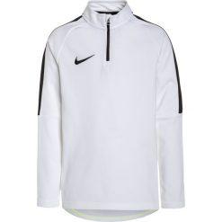 Nike Performance DRY DRILL ACADEMY Bluza white/black. Niebieskie bluzy chłopięce marki Nike Performance, m, z materiału. Za 159,00 zł.
