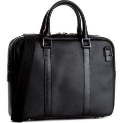 Torba na laptopa KAZAR - 28268-16-00 Czarny. Czarne torby na laptopa Kazar, w paski, ze skóry, z tłoczeniem. W wyprzedaży za 479,00 zł.