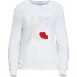 Biała Bluza Rare. Białe bluzy damskie Born2be, l, z aplikacjami, z dresówki. Za 59,99 zł.