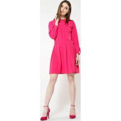 Fuksjowa Sukienka Believe It. Szare sukienki mini marki other, uniwersalny. Za 74,99 zł.