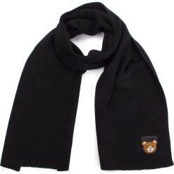 Szal MOSCHINO - 30569 M1851 016. Czarne szaliki męskie MOSCHINO, z materiału. Za 749,00 zł.