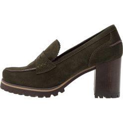 Weekend Czółenka na platformie prestige bosque. Czarne buty ślubne damskie marki L'INTERVALLE, z materiału. Za 589,00 zł.