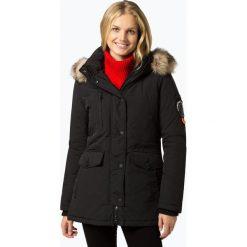 Superdry - Kurtka damska, czarny. Szare kurtki damskie marki Superdry, l, z nadrukiem, z bawełny, z okrągłym kołnierzem. Za 899,95 zł.