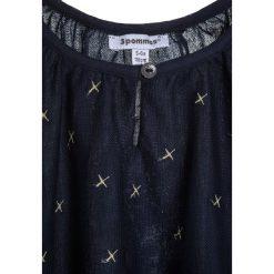 Sukienki dziewczęce z falbanami: 3 Pommes Sukienka koktajlowa bleu navy
