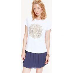 T-shirty damskie: T-SHIRT DAMSKI Z NADRUKIEM