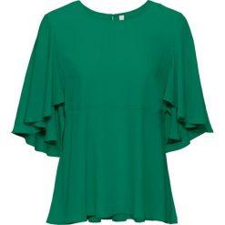 Bluzki asymetryczne: Bluzka bonprix zielony