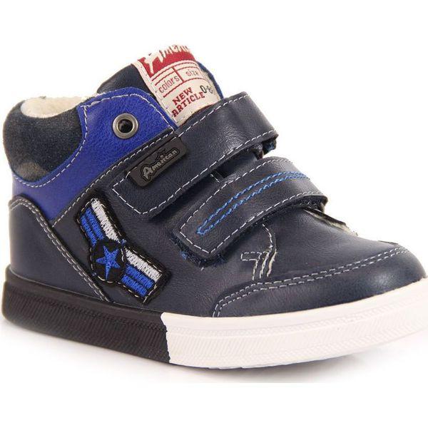 87da852f Buty sportowe chłopięce ocieplane granatowe American Club 25 - Szare buty  chłopięce sportowe American CLUB, bez zapięcia. Za 55,00 zł.
