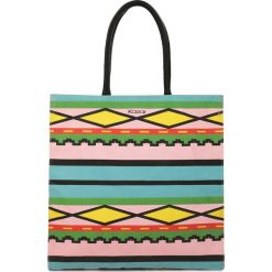 Multikolorowa torba na plażę. Szare torby plażowe marki Kazar, z tkaniny. Za 149,00 zł.