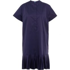 PS by Paul Smith Sukienka letnia dark blue. Niebieskie sukienki letnie PS by Paul Smith, z bawełny. W wyprzedaży za 801,75 zł.