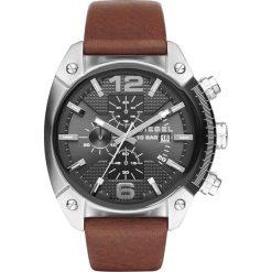 Diesel - Zegarek DZ4381. Czarne zegarki męskie marki Fossil, szklane. Za 599,90 zł.